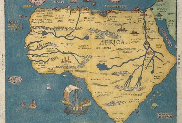 roteiros personalizados, mapa da Africa