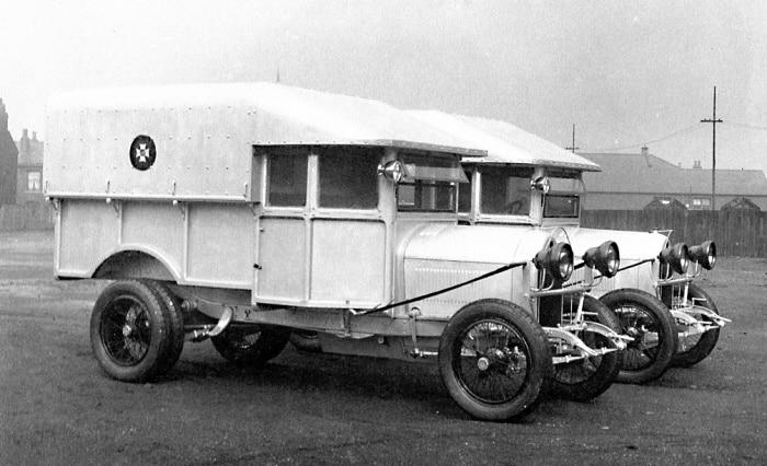 Crossley light trucks
